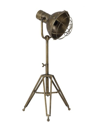 Große Stativtischlampe Bronze-1922BR