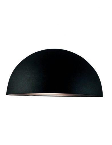 Große wandleuchte außen schwarz-2369ZW