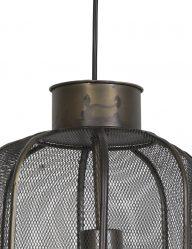 Hängelampe-aus-Bronze-Hühnerdraht-1762BR-1