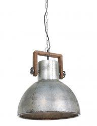 Hängelampe aus Metall im industriellen Stil-1678ZI