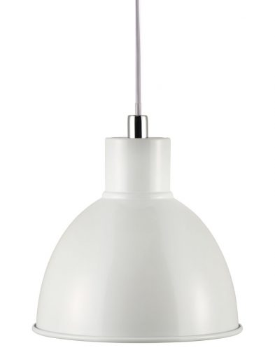 Hängelampe weiß metall-2339W