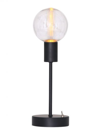 Hohe Schwarze Tischlampe wireless-1721ZW