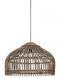Holz-Hängelampe Bambus-1734B