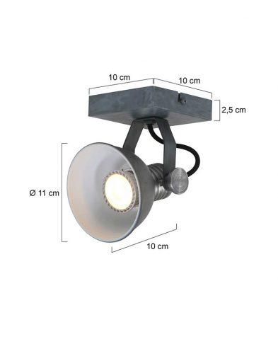 Industrie-Deckenspot-Grau-1533GR-5