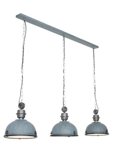 Industrie Hängeleuchte mit 3 Lampen-7980GR