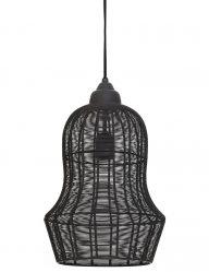 Industrie-Lampe aus Grauem Draht-1965GR