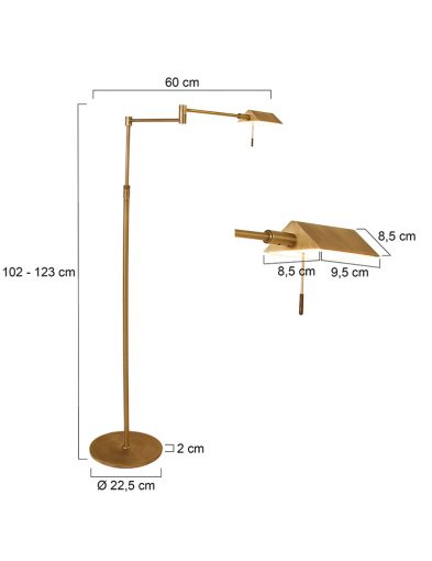 Klassische-Stehleuchte-LED-Bronze-1486BR-3