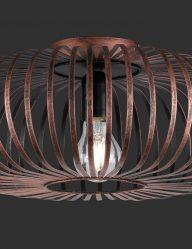 Kupferfarbene-Gitter-Deckenleuchte-1802KO-1