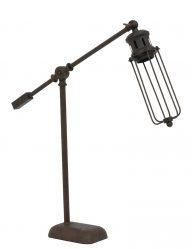 Ländliche Braune Tischlampe-1937B