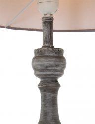 Ländliche-Stehlampe-aus-Holz-Grau-1640GR-1