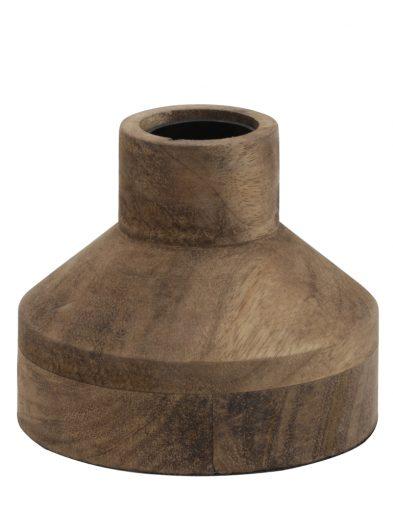 Ländliche Tischlampe aus Holz-1936BE