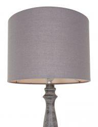 Ländliche-Tischlampe-aus-Holz-Grau-1641GR-1