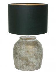 Lampe mit Fuß aus Stein-9188BR