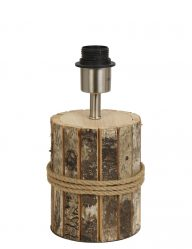 Lampe mit Holzfuß-1007BE