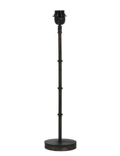 Lampenfuß aus schwarzem Metall-1672ZW