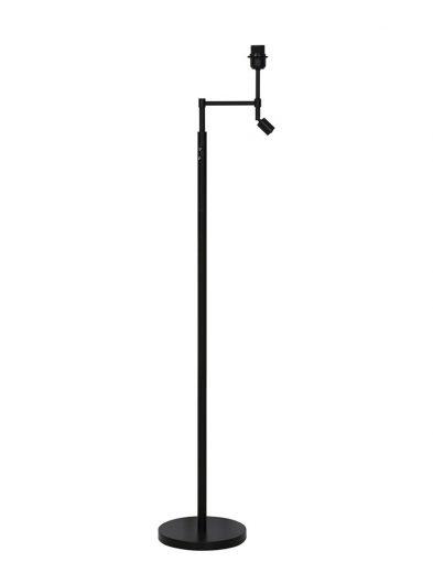 Lampenfuß metall schwarz-1904ZW