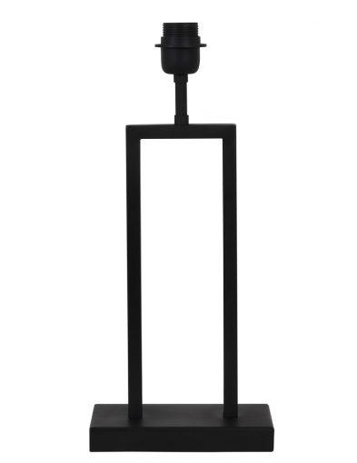 Lampenfuß schwarz metall-2081ZW