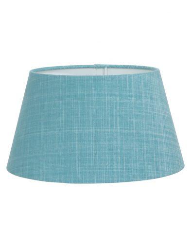 Lampenschirm blau stoff-K6004ZS
