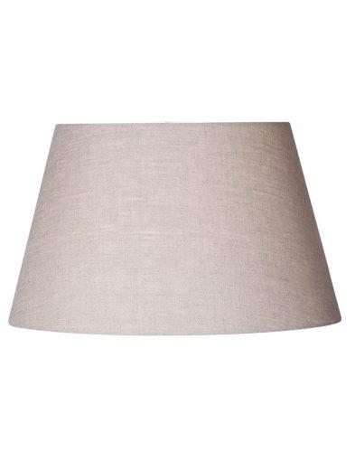 Lampenschirm leinen grau-K1050RS