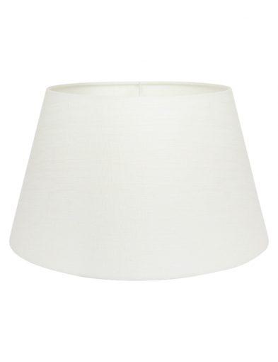 Lampenschirm weiß leinen-K1050QS