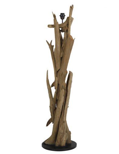Lampensockel mit einzigartiger Holzleuchte & Wohnaufsatz-2084BE