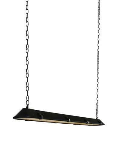 Lange Esstischlampe Schwarz-1571ZW