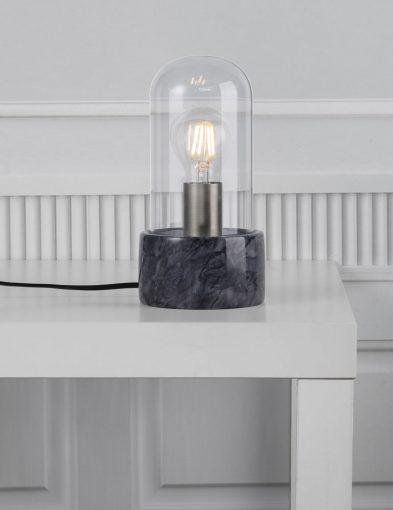 Laterne-marble-schwarz-2379ZW-4