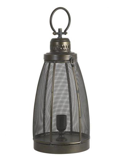 Laternen-Tischlampe dunkelbronze-1781BR