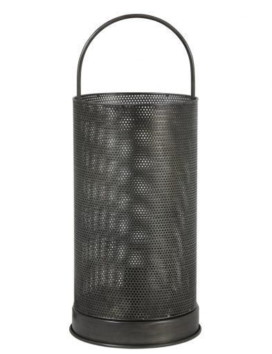 Laternenlampe mit rundem Netzgeflecht-1960GR