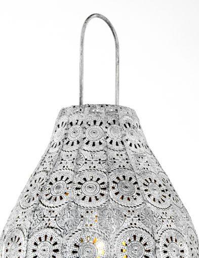 Laternentrio-Beleuchtung-mit-Blumenmuster-Jasmin-Silber-1067GR-2
