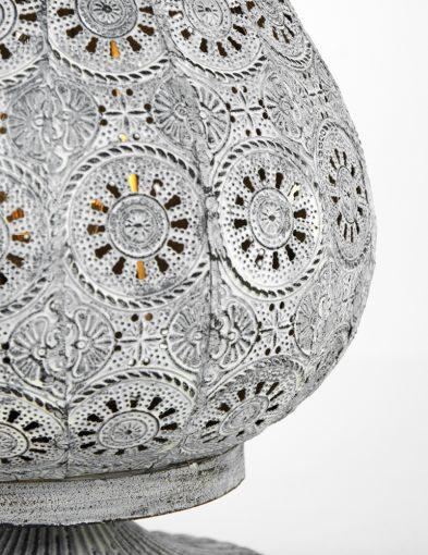 Laternentrio-Beleuchtung-mit-Blumenmuster-Jasmin-Silber-1067GR-4
