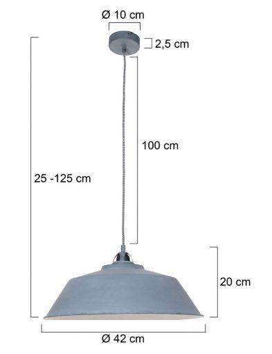 MausGraue-Hängelampe-Grau-1318GR-4