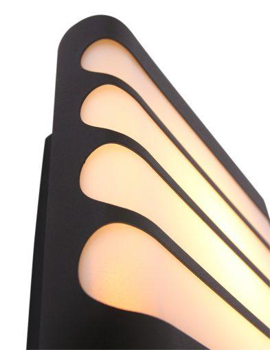 Moderne-Außenlampe-von-Philips-Waschbär-Schwarz-1466A-2