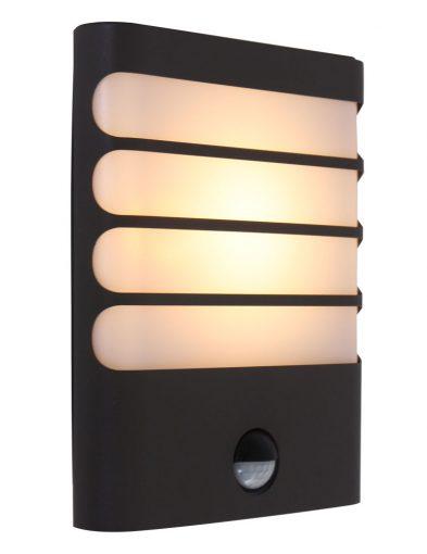 Moderne Außenlampe von Philips Waschbär Schwarz-1466A