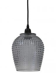 Moderne Hängelampe aus Glas mit Muster-1750GR