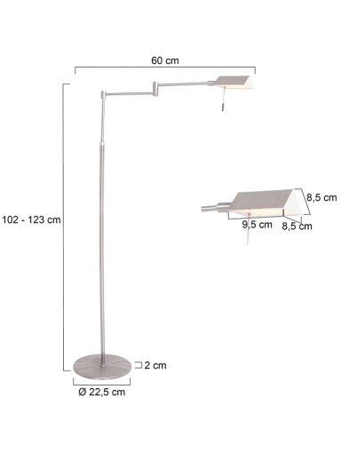 Moderne-Leseleuchte-LED-Stahl-1486ST-7