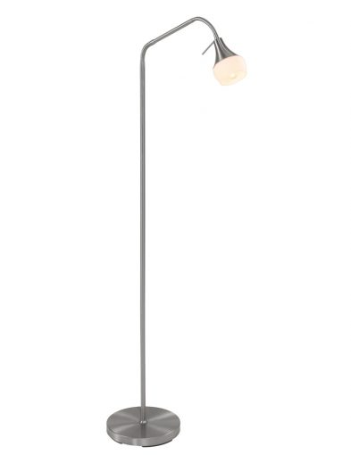 Moderne Steh-Leselampe Stahl-1600ST