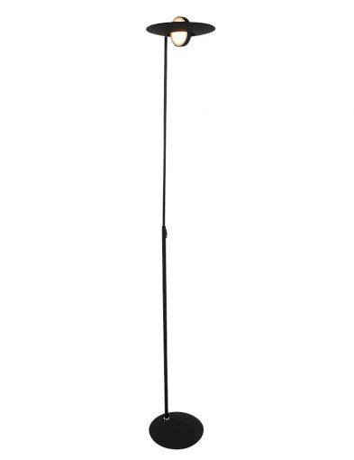 Moderne Stehleuchte LED Schwarz-1477ZW