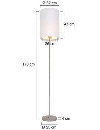 Moderne-Stehleuchte-Weiß-1515ST-6