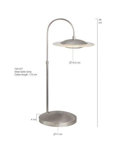 Moderne-Tischlampe-Steel-LED-7251ST-7
