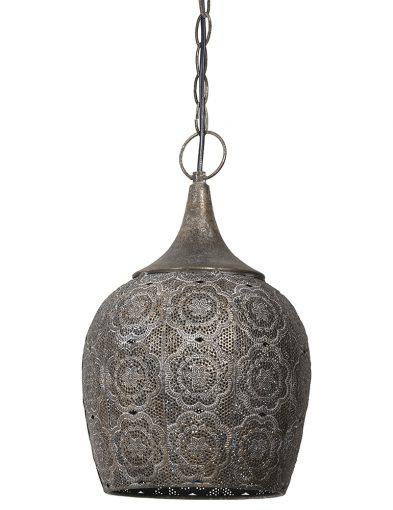 Orientalische Blumen Hängelampe-1775BR