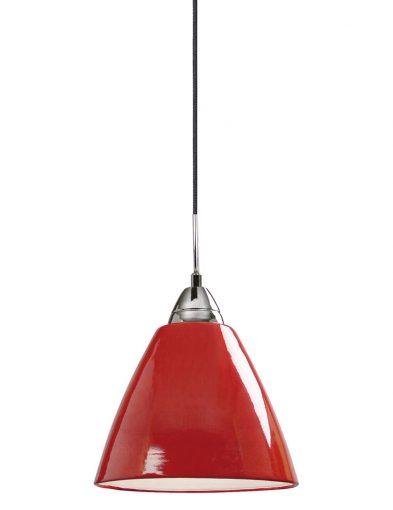 Pendelleuchte rot glas-2363RO