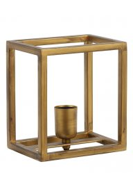 Quadratische Goldene Wandleuchte-1752GO