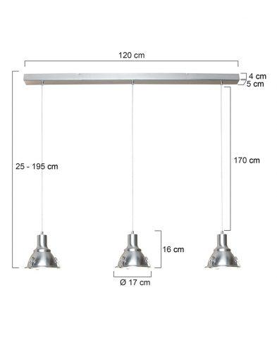 Robuste-Hängelampe-Stahl-dreilicht-6526ST-2