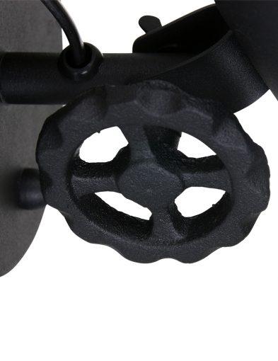 Robuste-Wandleuchte-aus-Schwarzem-Metall-1323ZW-2