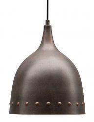 Robuste ländliche Hängelampe Braun-1596B