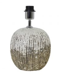 Robuster Lampensockel aus farbigem Stein-1907W
