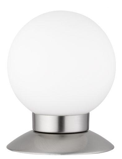 Runde Birnenlampe aus Stahl-1806ST