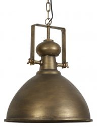 Rustikale Bronzelampe-1996BR