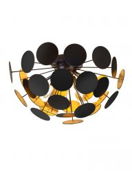 Schwarze Design Deckenlampe-1605ZW